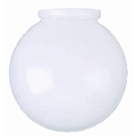 Kor k21815 6 inch white glass globe lamp shade 3 14 inch fitter kor k21815 6 inch white glass globe lamp shade 3 14 aloadofball Gallery