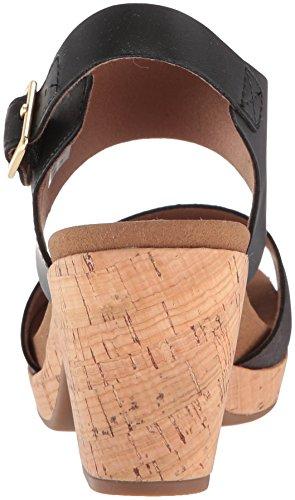 Sandalo Donna Con Tacco Vivianne 2 Pezzi Nero / Multi