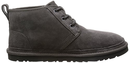 Ugg Mens Neumel Chukka Boot In Pelle Scamosciata Color Carbone