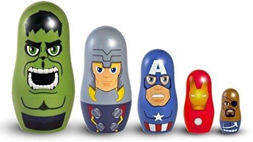 (PPW Marvel Avengers Nesting Dolls Toy Figure)