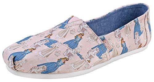 TOMS Women's Disney¿ Alpargata Pink Sleeping Beauty Printed Canvas 5 B US ()
