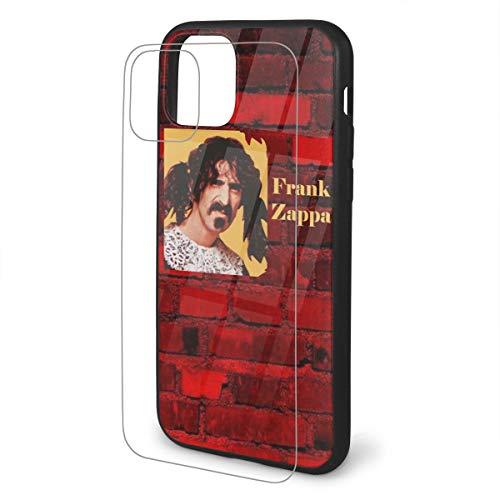 Limiaomiao iPhone Soft TPU 11 Case Glass Frank Zappa Phone 11 Pro Cover Case Fashion iPhone 11 Pro Max Case iPhone 11 Pro Max (The Best Of Frank Zappa 2019)