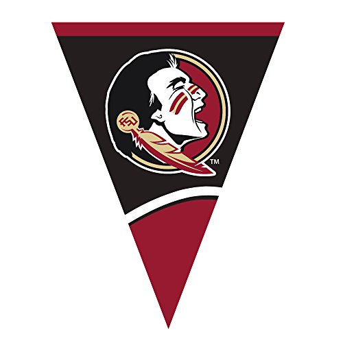 Creative Converting Plastic Flag Banner, Florida State Unive