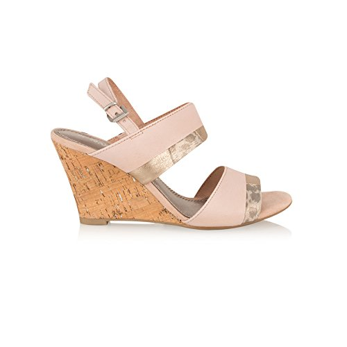 Marco Tozzi Wedge Sandal, Rose