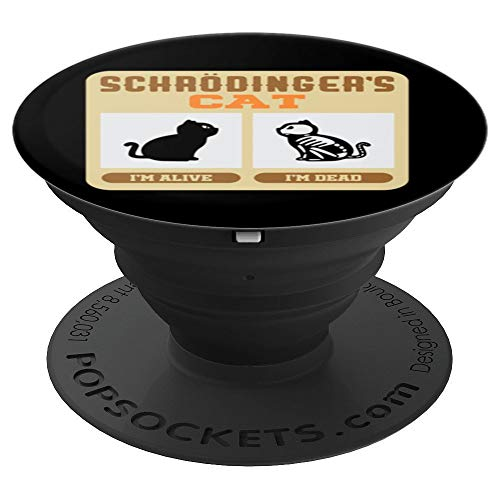 The Big Bang Theory Halloween Party (Schrodinger's Cat PopSocket - Paradox Theory - PopSockets Grip and Stand for Phones and)