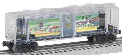Lionel 6-29300 Transparent Aquarium Car 50th Anniversary Motorized Clear Shell - Cars Aquarium