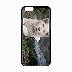 iPhone 6 Black Hardshell Case 4.7inch albino eyes Desin Images Protector Back Cover