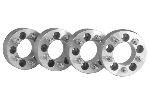4 Jeep Wrangler Wheel Spacers Adapters 2 inch thick fits ALL Jeep Wrangler JK Models by easywheel (Image #1)