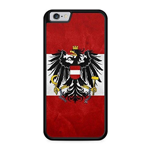 Austria Österreich Apple iPhone 6 + PLUS / 6S + PLUS SILIKON BK Hülle Cover Case Schutz Schale Flagge Flag