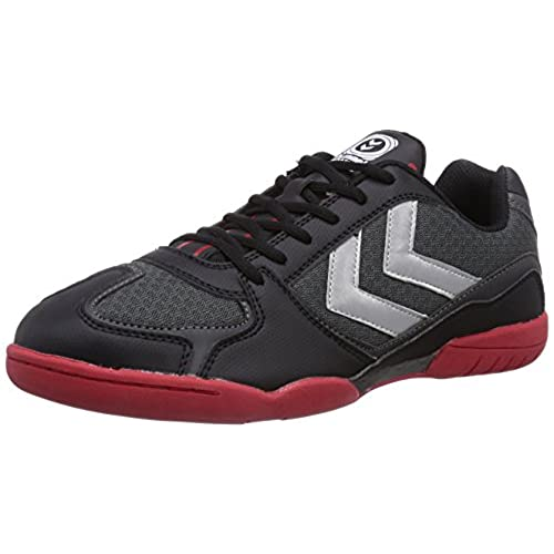 Hummel HUMMEL TRAINSTAR - Zapatillas deportivas para interior de material sintético mujer, color negro, talla 36