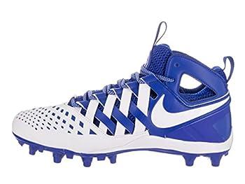 Nike Men's Huarache V Lax Game Royalwhitewhite Cleated Shoe 10 Men Us 1