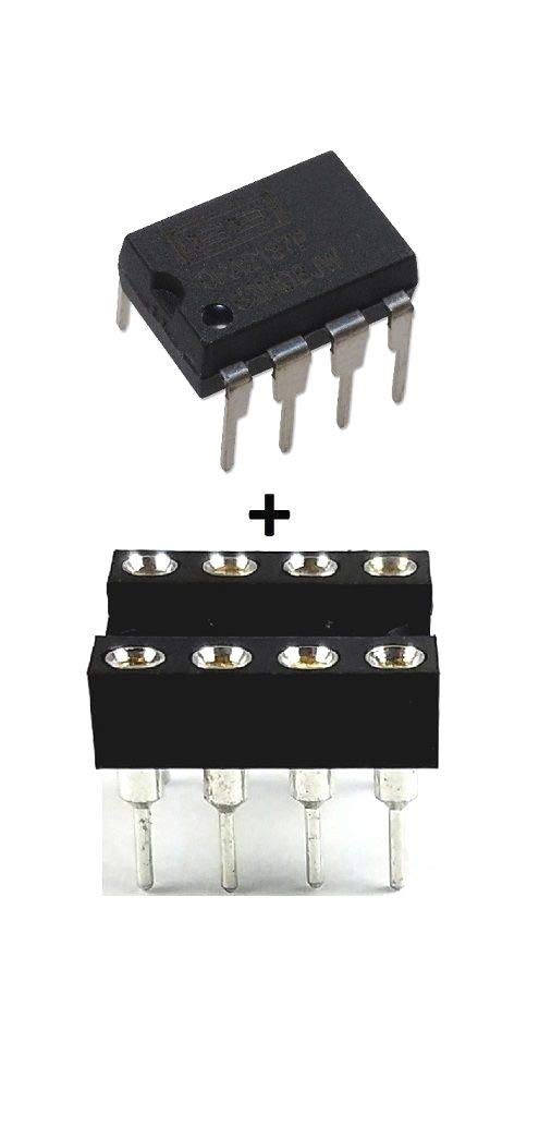 Burr Brown OPA2137P OPA2137 + Sockets - Dual FET Operational Amplifier IC (Pack of 2)