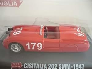 Cisitalia 202 SMM, No.179, Mille Miglia , 1947, Modelo de Auto, modello completo, SpecialC.-31 1:43