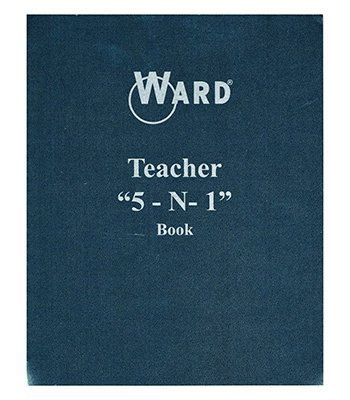 TEACHER 5 IN 1 GRADE BOOK LESSON by WARD/THE HUBBARD COMPANY
