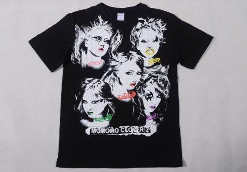 ももいろクローバーZ 公式グッズ Lady-ZのビジュアルTシャツ【箱推し】XLサイズ   B00FJ8R26I
