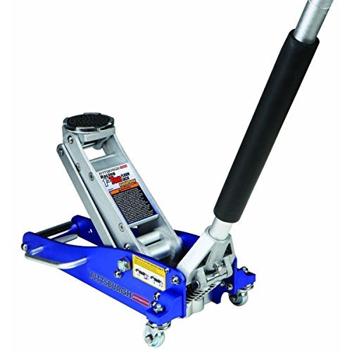 New! 3000 Lb Aluminum Racing Car Auto Floor Jack Low Profile Rapid Pump Lift by Pittsburgh Automotive