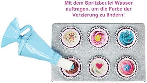 Barbie FHP57 Cooking & Baking Bäckerin Puppe & Spielset, Mehrfarbig