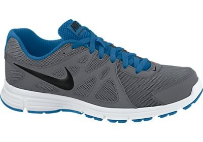 first rate 92ec9 5001e Mens Nike Air Revolution 2 Running Shoe Dark Grey Military Blue White Black  Size 15 - Buy Online in Oman.   Shoes Products in Oman - See Prices, ...