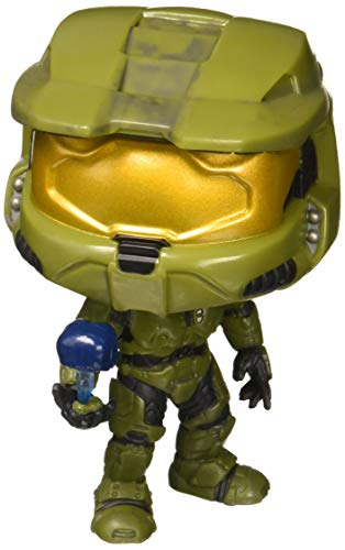 (Funko POP! Games: Halo Master Chief with Cortana Collectible Figure, Multicolor)