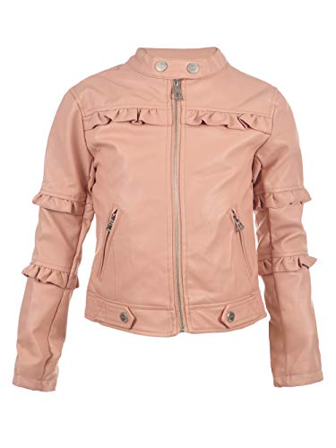 (Urban Republic Big Girls' Moto Jacket - Rose,)