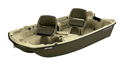 Sun Dolphin Pro Fishing Boat (Cream/Brown, 10.2-Feet) Boats And Motors KL Industries