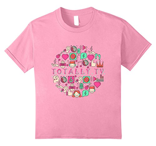 Price comparison product image Kids Totally TV Music Festival T-Shirt 10 Pink