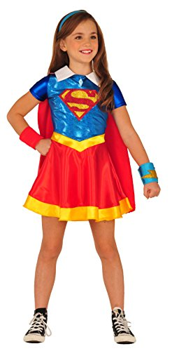 Imagine by Rubies DC Superheroes Supergirl Dress Up Outfit (Superhero Outfits)