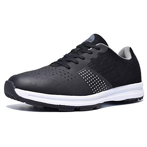 Thestron Calzado de golf para hombre Zapatillas de deporte para caminar Calzado de golf deportivo para entrenamiento ...