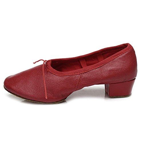 Roymall-Womens-Latin-Dance-ShoesRed-ColorModel-LT9-BM-US