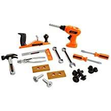 BLACK & DECKER Fun Tool Set, 20-Pieces