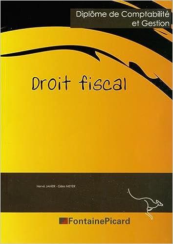 Livres DCG 4 Droit fiscal pdf