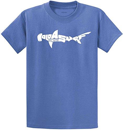 Joe's USA Koloa Surf Co.(tm) Hammerhead Shark T-Shirts Youth X-Large Ultramarine Blue by Joe's USA