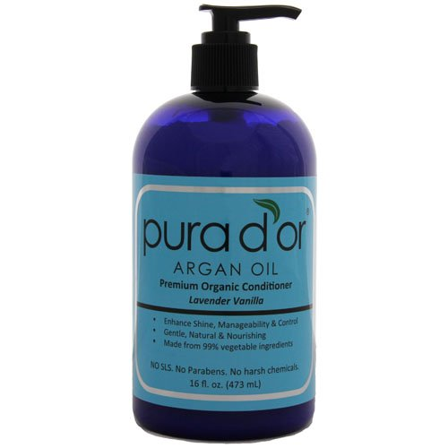 Pura d'or: Premium Conditioner organique (16 fl oz.).