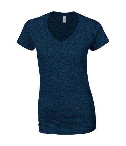 GILDAN - T-shirt - Femme -  Bleu - Bleu marine - 38