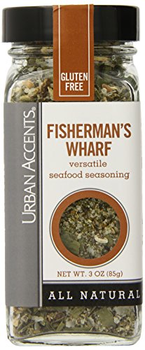 Urban Accents Fisherman's Wharf Versatile Seafood Seasoning 3 Oz (Pack of 6)