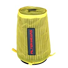 FILTERWEARS Yellow Water Repellent Pre-Filter K363Y Fits K&N Air Filter YA-3502 BOMBARDIER DS650/X; HONDA TRX450R, YAMAHA YFZ350 BANSHEE