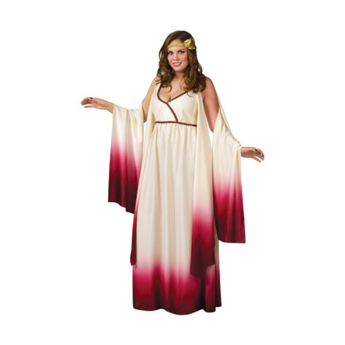 Fun World Venus Goddess of Love Costume, Tan, Plus Size