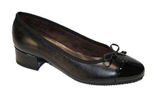 Negro Norton Zapatos Mujer Para de Negro Vestir CTpwTXxq