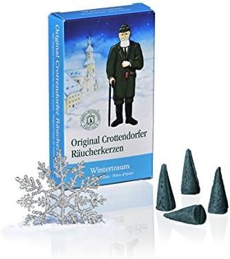 Original Crottendorfer R/äucherkerzen Wintertraum