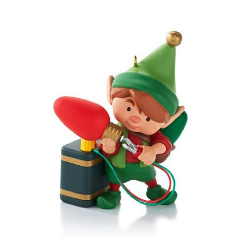 (North Pole Tree Trimmers #1 Series 2013 Hallmark Ornament)
