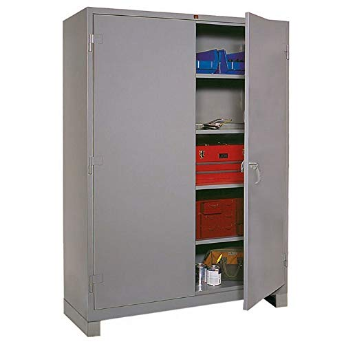 Lyon DD1145 All Welded Steel Shelf Cabinet with Standard Door, 60