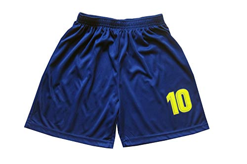 753d32c6542 Da Games Youth Sportswear Barcelona Messi 10 Kids Home Soccer Jersey/Shorts  Football Socks Set