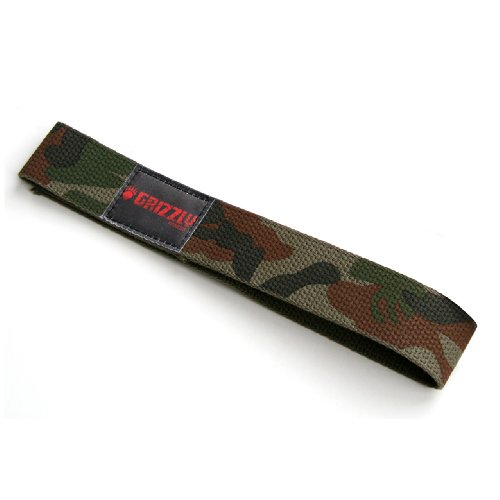 Grizzly Camouflage Cotton Lifting Straps