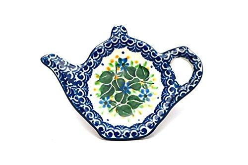 Polish Pottery Tea Bag Holder - Ivy Trail