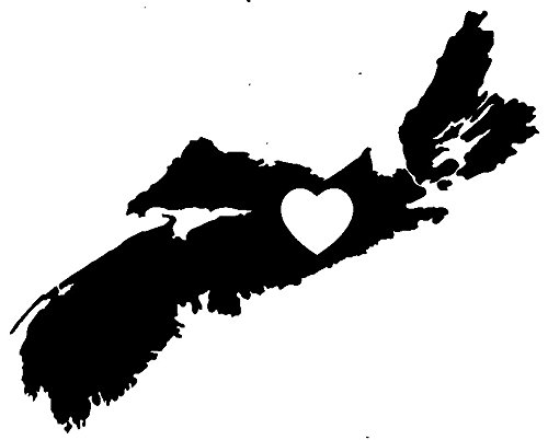 Nova Scotia Heart Love Canada Province Wax Seal Stamp