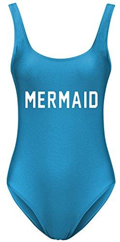 Letsrunwild Womens Retro High Cut One Piece Swimsuit Bathing Suit Swimwear for Women