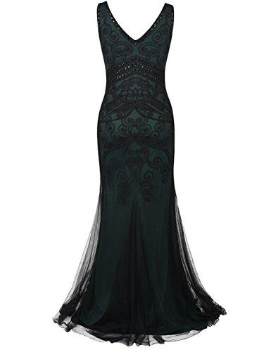 Sirne Soire annes Gown de 20 Vert PrettyGuide Prom Longue Femmes Formel Robe yqxa61Xw