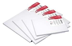 Artina Premium - Set de 10 piezas - 30x100 cm - Lienzos blancos para pintar - Con bastidor de alta calidad - 380g/m²