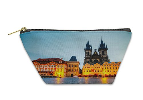 Gear New Accessory Zipper Pouch, Church Of Our Lady Before Tyn In Prague At Sunrise, Small, 5574706GN by Gear New