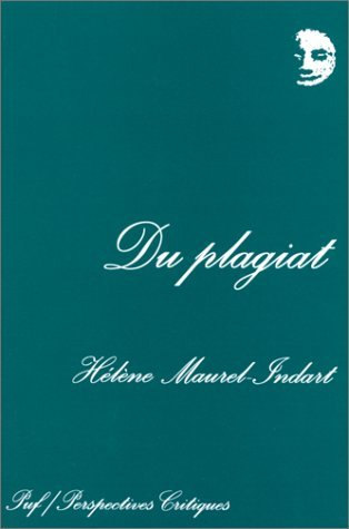 Du Plagiat [Pdf/ePub] eBook